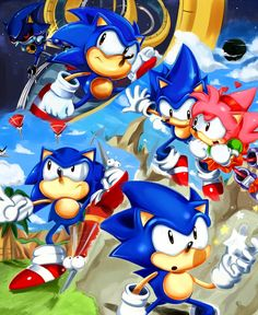 Sonic CD: ending by *missyuna on deviantART