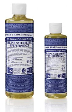 Dr. Bronner Liquid Soap Pfefferminze