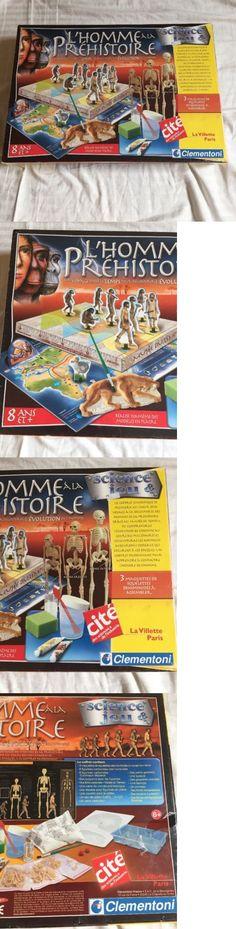 Animals and Nature 31744: Clementoni France L Homme Prehistoire Science Game La Villette Paris New -> BUY IT NOW ONLY: $59.99 on eBay!