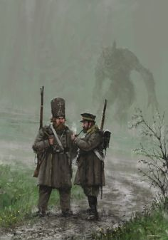 1863 - Monday, Jakub Rozalski on ArtStation at https://www.artstation.com/artwork/rOXgJ