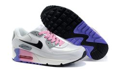 online store 1cab5 75c21 Nike Air Max 90 Womens Shoes Wholesale White Gray Pink Black Nike Air Max  Mens,