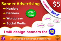 Professional Design Banners Cover Page Design Banners