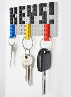 Simple and Useful Key Holder