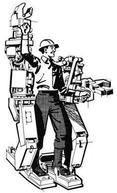 General Electric Hardiman Exoskeleton circa 1967