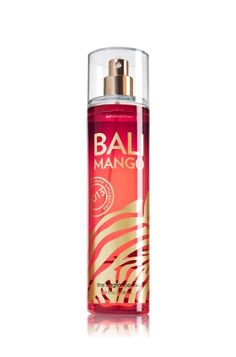 Bali Mango Fine Fragrance Mist - Signature Collection - Bath & Body Works