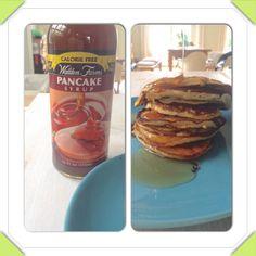 American Breakfast: Pancakes mit Ahornsirup