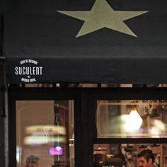 Restaurante Suculent, Barcelona. Tiene como chfe's a Carles Abellán. El local es acogedor, informal, pequeño y todo esta riquísimo! Altamente recomendable, e imprescindible el steak tartar y los púlpitos con garbanzos.
