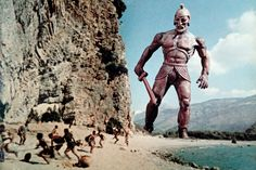 Google Image Result for http://trailersfromhell.com/wp-content/uploads/2013/11/talos-in-jason-and-the-argonauts.jpg  JASON and THE ARGONAUTS. Great early special effects!