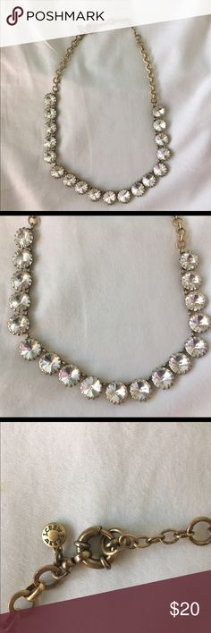 J.crew Factory Statement necklace One of j.crews classic Statement necklaces. In excellent condition, no flaws. One of the most versatile Statement necklaces it will go with everything in your closet. J.Crew Factory Jewelry Necklaces