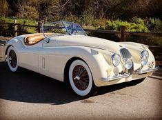 1954 Jaguar XK120 Roadster  #jaguar #classiccars #roadster #carphoto #instagram #instacar #car #cars #araba #klasik #classic #otomobil #oto…