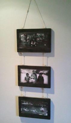 DIY Vintage Chic: 3 panel photo collage
