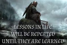 Life Lessons, Teacher, Learning, Movie Posters, Movies, Vikings, The Vikings, Professor, Life Lesson Quotes