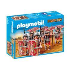"""Witajcie, trochę historii :)    Poznajcie """"Testudo"""" - taktykę obronną stosowaną przez rzymskich legionistów w celu obrony przed ostrzałem łuczników.    Zestaw Playmobil 5393 serii History - Rzymska Armia Bojowa dla dzieci od lat 6.     Armia składa się z 6 legionistów w pełnym uzbrojeniu.    Wyglądają walecznie:) Miłej zabawy:)    http://www.niczchin.pl/playmobil-history/4248-playmobil-5393-rzymska-armia-bojowa.html    #playmobil #history #testudo #rzymskaarmia #zabawki #niczchin #kraków"""