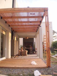 construccion de pergolas de madera modernas - Buscar con Google