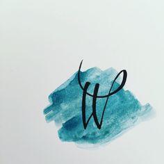 #Calligraphy #Handlettering #Moderncalligraphy  #Watercolor  #Watercolourlettering #Handletteringabc #Writemesomeletters