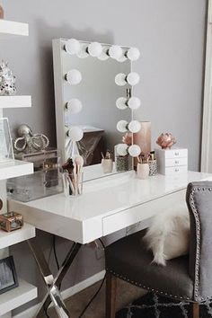10 Gorgeous Vanities That Give Us All the Beauty Lust via @PureWow