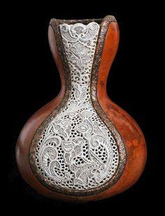 """Gourd Art - """"Eliza"""" by Jordan Straker. Pinned from jordanstraker.com"""