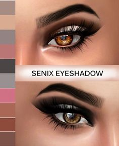Kenzar Sims: Senix Eyeshadow • Sims 4 Downloads