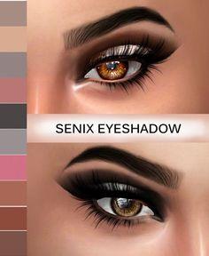 Kenzar Sims: Senix Eyeshadow • Sims 4 Downloads