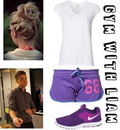"""P.E. with Liam"" by for-the-love-of-music ❤ liked on Polyvore"