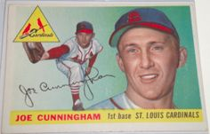 I will sell my 1955 Joe Cunningham Topps #37 for $ 10.00