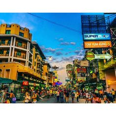 Throwback - The famous Khao San Road. People say this place has been ruined but I love it. A cauldron of every nationality mixing together, everything you could ever want to buy from cushions to tattoos, fake I.ds to ornamental furniture. One of the most unique streets on the planet #khaosanroad #thailand #crazy #love #beautfiul #nikon #night #travel #igdaily #backpack #igaddict #wanderlust #worldtraveltales #travelblog #blog #instatravel #travelgram #instagramtravel #bangkok #thelensbible…