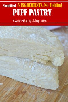How To Make Small Batch Flaky Empanada Dough Empanadas Recipe Dough, Dough Recipe, Empanada Dough, Mexican Dishes, Mexican Food Recipes, Puff Pastry Recipes, Sweet Pastries, Appetizer Recipes, Love Food