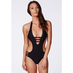 Stand out from the rest at the hottest pool parties in this cut out beauty. We love it styled with high waisted shorts for a hot summers day look. Approx lengt…