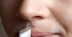 Veja como se faz:  INGREDIENTES  2 colheres (sopa) de mel  2 colheres (sopa) de suco de limão  1 colher (sopa) de farinha de aveia (aveia em pó)  MODO DE PREPARO  Misture os ingredientes até transformar tudo numa pasta.  Em seguida, aplique esfregando na área do rosto onde você quer eliminar os pelos.  Depois de 15 minutos, retire com água morna e aplicar creme hidratante facial.