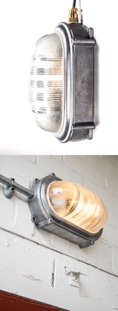 Bulkhead light bathroom and outdoor lights factorylux