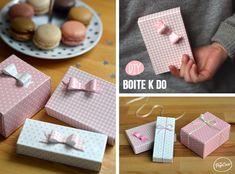 DIY faire de jolis paquets cadeaux à partir d'emballages avec The PopCase.