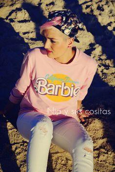 Nia y sus cositas: PINK&WHITE ft. Barbie