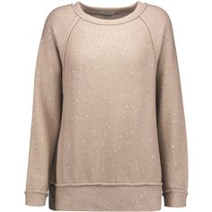 Brunello Cucinelli - Sequin-embellished Cashmere And Silk-blend... ($1,182) via Polyvore featuring tops, sweaters, pastel pink, pastel tops, pastel sweaters, sequin top, pink top and sequin sweater