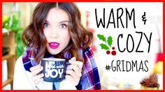 Warm & Cozy Makeup, Outfit + Chai Latte Recipe! Makeup and Outfit are perfect for Christmas!