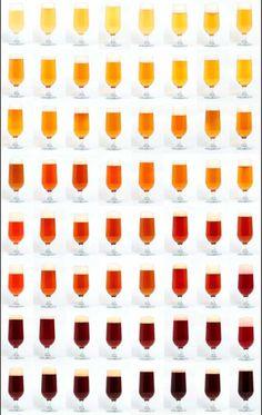 Cerveza de Argentina - El color de la cerveza