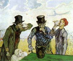 Vincent van Gogh's The Drinkers