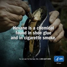 Tobacco & tobacco smoke are a toxic mix of more than chemicals, including hexane. What's in your lungs? Quit Now, I Quit, Smoking Effects, Stop Smoke, Smoking Cessation, Tobacco Smoking, Lungs, Public Health, Narcissist