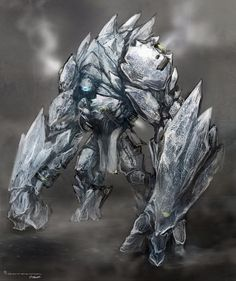 Chenoo (Native American) - Elementals made from pure ice, they look like ice golems. They guard the Ice Queen and are also made by her. The only way to kill them for good is to melt their frozen heart.