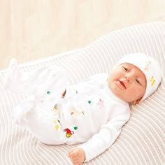 Farm Embroidered Baby Sleepsuit