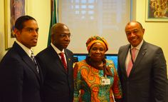 A great honour to meet Chairperson of the African Union Commission, Her Excellency Dr. Nkosazana Dlamini-Zuma, who endorsed our campaign for an African-led science agenda