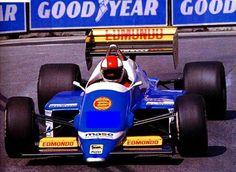 1986 GP USA (Allen Berg)  Osella FA1G - Alfa Romeo