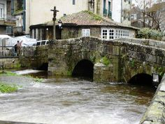 CALDAS DE REIS en la provincia de Pontevedra, Galicia, España. Spain.