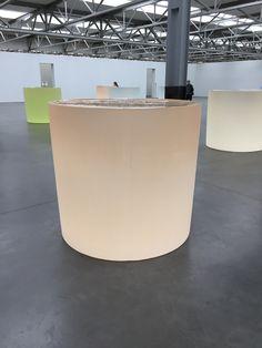 Roni Horn Glass sculptures Tilburg, Museum De Pont