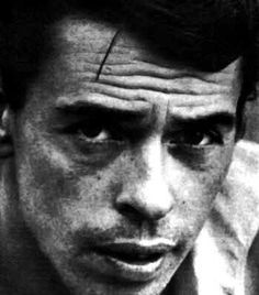 Jacques Brel.  Dead, big-eared, and Belgian...but the man got in my heart (taken from Mohamed Soualmia).