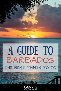 There are so many unique things to do in Barbados! Leave the beach behind for a day and try one of these top 10 Barbados excursions. Visit Barbados, Barbados Travel, Paradise Travel, Barbados Resorts, Beach Honeymoon Destinations, Caribbean Vacations, Travel Destinations, Beach Vacations, Romantic Vacations