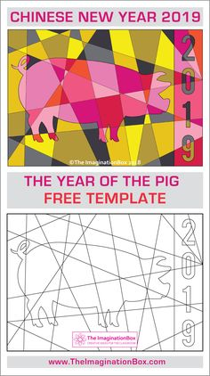 , Chinese New Year 2019 Free Coloring Pages , This Chinese New Year Year of The Pig FREE printable coloring activity is an easy fun Chinese New Year craft for kids - a no prep art lesson pla. Chinese New Year Crafts For Kids, Chinese New Year Dragon, Chinese New Year Activities, Chinese New Year Party, Chinese Crafts, New Years Activities, Chinese New Years, Craft Activities, New Year Coloring Pages