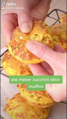 Savory Muffins, Savory Snacks, Savoury Slice, Savoury Pies, Best Carrot Cake Ever Recipe, Breville Pie Maker, Homemade Crumpets, Vegan Lunch Box, Savoury Baking