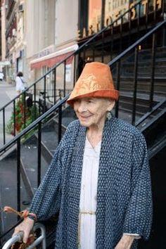Happy old ladies make me smile.
