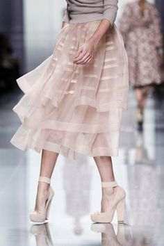 Probably my favorite runway shot ever / Christian Dior fall 2012