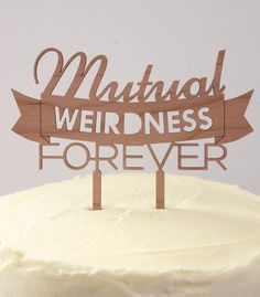 When it comes to cake toppers, weirdness wins. #EtsyWeddings